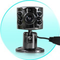 Wired Mini Spy Camera - Color CMOS Sensor - NTSC