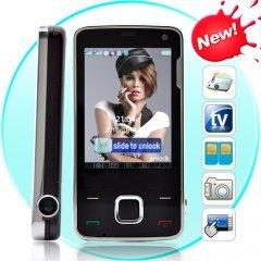 Galaxia - Quadband Touchscreen Dual-SIM TV Projector Phone