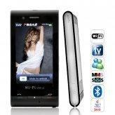 Fusion - WiFi Quadband Dual-SIM Cellphone w/ 3 Inch Touchscreen
