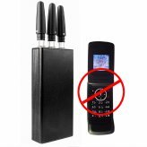 Portable GPS + Mobile Phone Jammer - 10 Meter Range