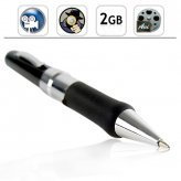 Secret Agent Pen Camcorder with Audio - 2GB