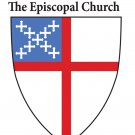 "Episcopal Church Car Decal 3"" x 4 1/8"" (Package of 4)"