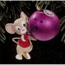 Bowl em Over - Hallmark Keepsake Christmas Ornament 1996 Collectible MIB