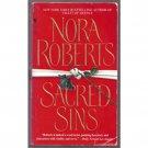 Sacred Sins by Nora Roberts Paperback Book Bantam 2001