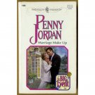 Marriage Make Up by Penny Jordan Harlequin The Big Event Series PB Book Oct 1998 Issue 1983