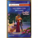 Tex Times Ten by Tina Leonard Harlequin Cowboys by the Dozen Series PB Book Oct 2003 Issue 989