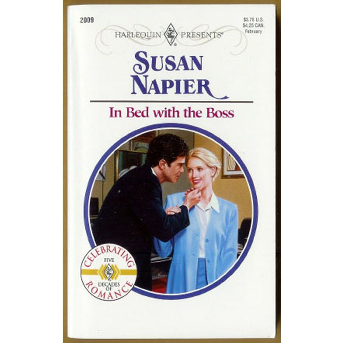 In Bed with the Boss by Susan Napier Harlequin 9 to 5 Series PB Book Feb 1998 Issue 2009