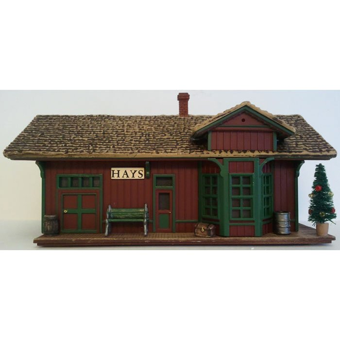 Hays Train Station Sarah Plain and Tall Collection 1994 Hallmark Christmas Collectible XPR9452 NIB