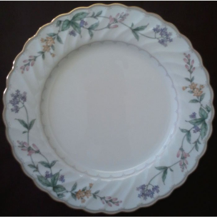 Noritake Dinner Plate Bone China Brookhollow 4704 Japan 10.5in Like New Replacement