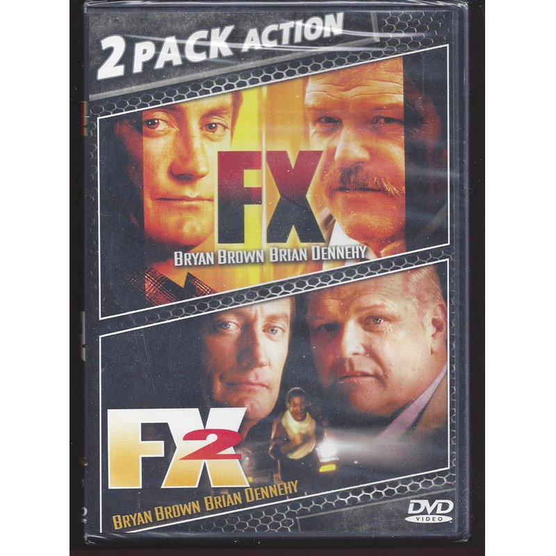 FX and FX2 2-Pack DVD Bryan Brown Brian Dennehy New Sealed