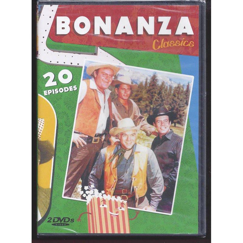 Bonanza Classics DVD 20 Episodes Lorne Greene Michael Landon Pernell Roberts Dan Blocker New Sealed