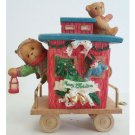 Casey Santa Express Caboose Cherished Teddies Friendship is the Perfect End to the Holidays 219525