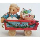 Tony Santa Express Mail Car Cherished Teddies A First Class Delivery For You 219487