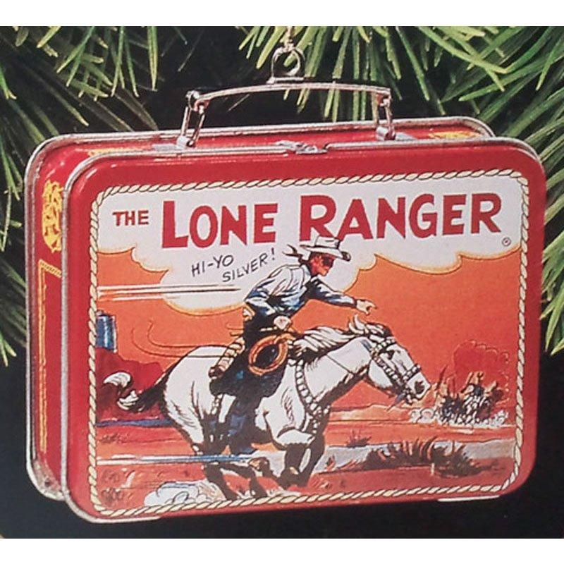 Lone Ranger Lunch Box Ornament Hallmark Keepsake Christmas Ornament 1997 Collectible QX6265