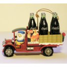 Coca-Cola Ornament Delivery for Santa North Pole Bottling Works Christmas Collectible 1995 MIB