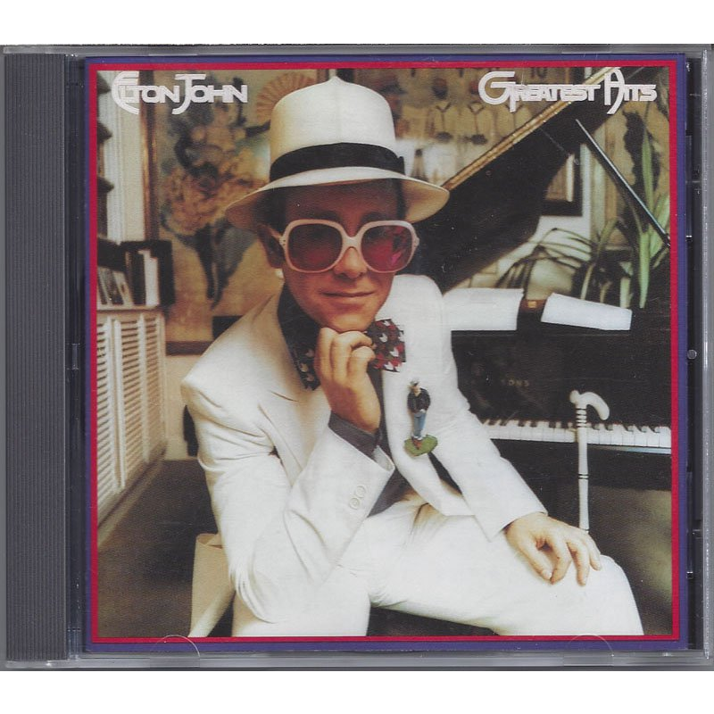 Elton John Greatest Hits 1 CD 1974 Club Edition