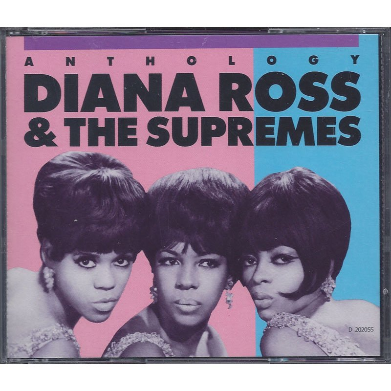 Diana Ross and the Supremes Anthology with Liner Notes 2-CD Set 1986 Club Edition