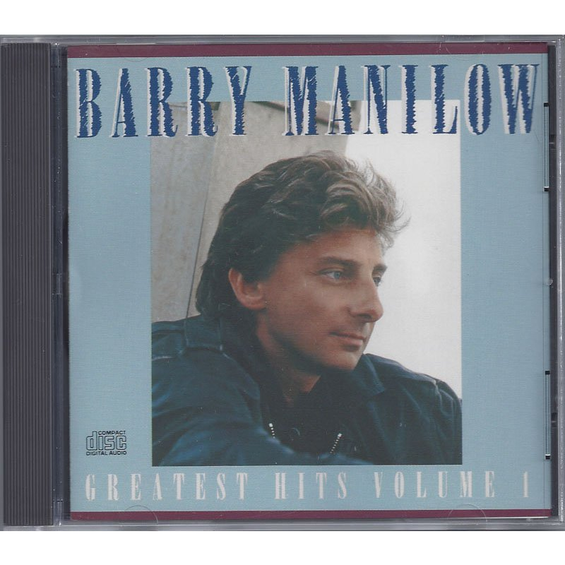 Barry Manilow Greatest Hits Volume I CD 1989 Digitally Remastered
