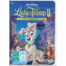 Lady and the Tramp II Scamp's Adventure Disney DVD Animated Movie Widescreen