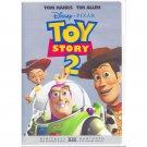 Toy Story 2 Disney Pixar DVD Tom Hanks Tim Allen Animated Movie Widescreen and Full Screen
