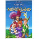 Peter Pan Return to Never Land Disney Animated Movie DVD Dolby Digital Widescreen