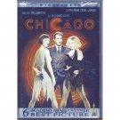 Chicago DVD Catherine Zeta-Jones Renee Zellweger Richard Gere Queen Latifah Widescreen