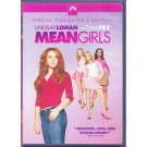 Mean Girls DVD Special Collector's Edition Lindsay Lohan Rachel McAdams Tina Fey Full Screen