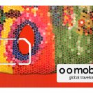 The O O Mobile Global TravelSim - #1 Global Roaming Sim Card with $50 loaded.