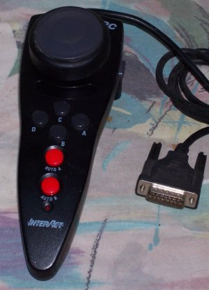 Interact Ultra Racer PC joy stick wheel