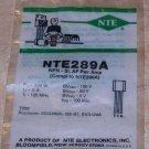 NTE 289A NPN AF Power Amp