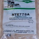 NTE 778A Operational Amplifier OP AMP