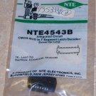 NTE 4543B BCD 7 Segment Latch Decoder Driver