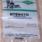 NTE 947D Frequency Comp Operational Amplifier Op Amp
