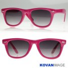 Bright Retro Colorize Wayfarer Sunglasses K1004 Pink