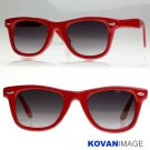 TV Celebrity Hero Famous Wayfarer Sunglasses K1004 Red
