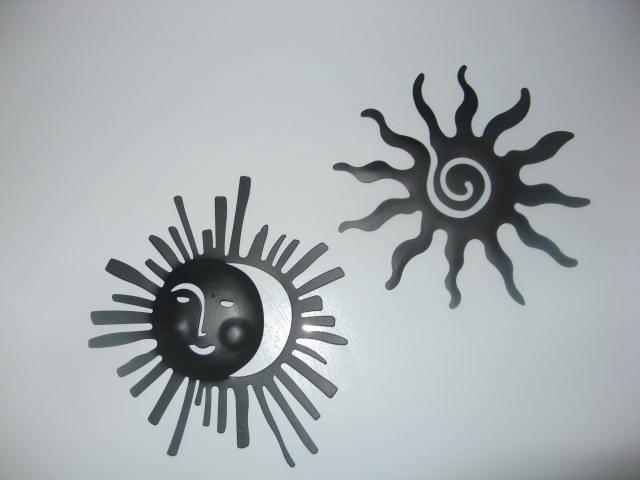 Sun Deco Wall Plaques