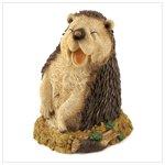 Hedgehog Garden Figurine