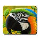 Mousepad from art design Bird 50 parrot