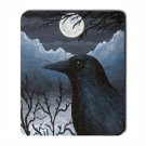 Mousepad from art design Bird 58 crow raven