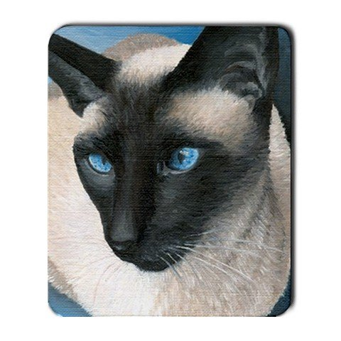 Mousepad from art design Siamese Cat