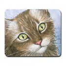 Mousepad Mat pad from art painting Cat 391