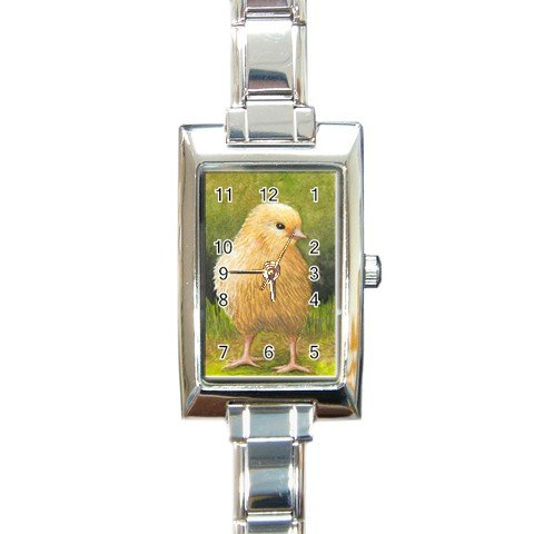 Rectangular Italian Charm Watch from art Bird 60 Chick