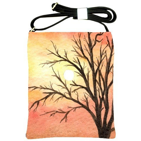 Shoulder Sling Bag Purse from art painting Landscape 289