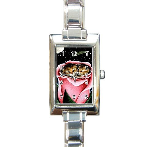 Rectangular Italian Charm Watch from art Cat 259