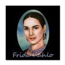 Ceramic Tile Coaster from art painting Frida Kahlo 14