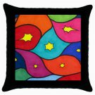Throw Pillow Case from art painting Abstract 3