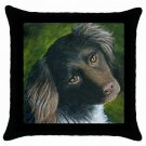 Throw Pillow Case from art painting Dog 43