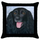 Throw Pillow Case from art painting Dog 75 Lab