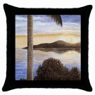 Throw Pillow Case from art painting Sea View 166