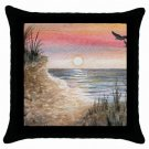 Throw Pillow Case from art painting Sea View 168